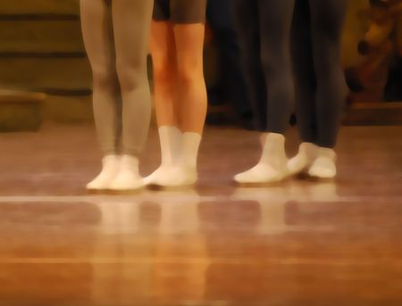 allegro:  ballet illustration