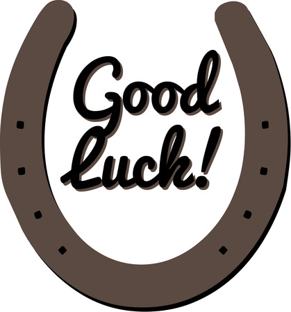 omen: Hang a horseshoe over the door to bring good luck.  Great for your equestrian gear or just a good luck charm.