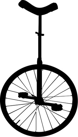 talented: It takes a specially talented rider to make this unicycle go!  Add biking flair to your biking shirts to create a lasting impression.