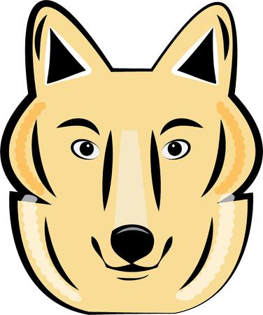 swag: This wolf is great for either a mascot or an animal creation.  Think team apparel and swag!