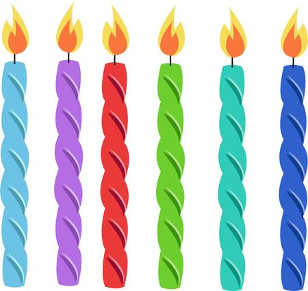 holiday celebrations: Birthday candles put your cakes aglow and help make all your guest of honors birthday wishes come true.
