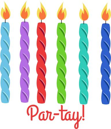 honors: Birthday candles put your cakes aglow and help make all your guest of honors birthday wishes come true.