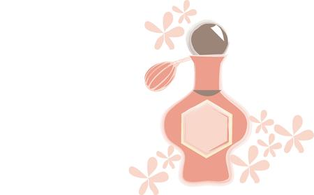 perfume atomizer: A beautiful perfume atomizer is a must for any well sat up dressing table.  Add this lovely perfume bottle and its surrounding flowers to a cosmetic bag for a stunning gift.