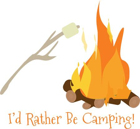 delectable: Wherever you are headed these delectable campfire treats are sure to add some sweetness. Roasting marshmellows is the perfect campfire treat!
