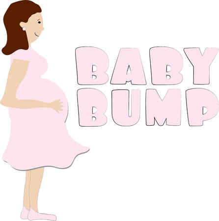 bump: Celebrate the mom to be with this fun baby bump.  It is the perfect way to decorate for a shower or create a fun invite to the shower!