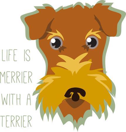 mutt: Questo amico artistico cane aggiunge il suo fascino vivace per i vostri progetti.