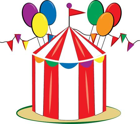big top: The big top is in town with this fun filled design.  Balloons and streamers create a festive feel to any creation sporting this design.
