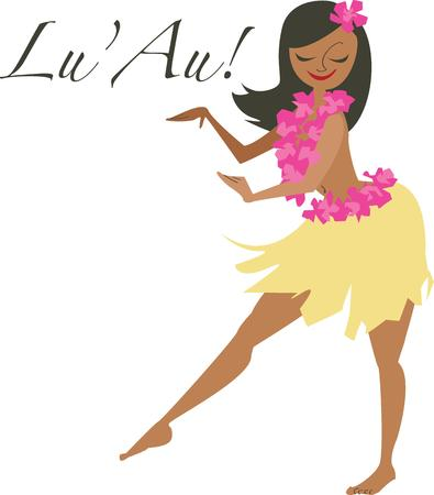 luau: A Hawaiian greeting awaits you upon arrival in paradise.