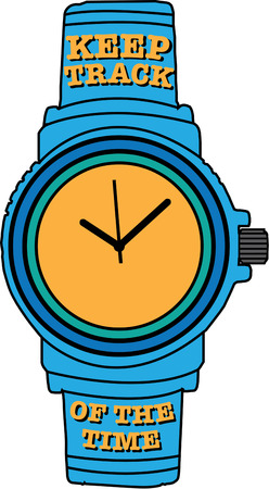 going for it: Don not watch the clock do what it does. Keep going Decorate apparel for a game official with this classic timepiece