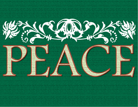 conveyed: The calmness and peace of the holiday season is conveyed in this lovely design.