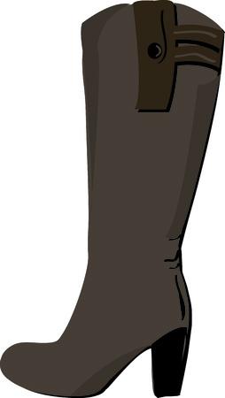 high heeled:  Love these high heeled boots
