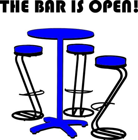 sgabelli: Un set di bistro interessante � l'aggiunta perfetta al vostro bar. La forma interessante degli sgabelli fanno di questo progetto un vero distinguersi!
