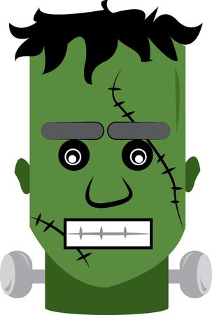 frankenstein: Halloween is the best holiday for this frankenstein.