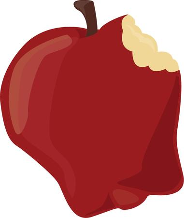 sweet tooth: An apple is a great treat for a sweet tooth.