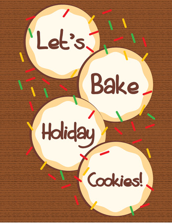 holiday tradition: Special cookies are a holiday tradition especially these with Christmas colored sprinkles.  Add some holiday treats to your Christmas menu