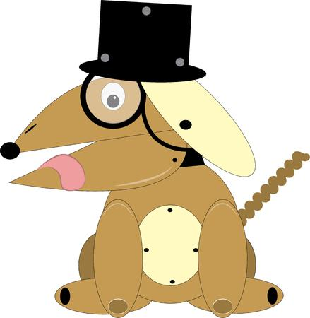 whelps: Top Hat Dog