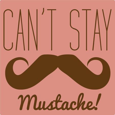 I simply must have this mustache . It is so very cute on your crafty creations such as tote bags. Vector