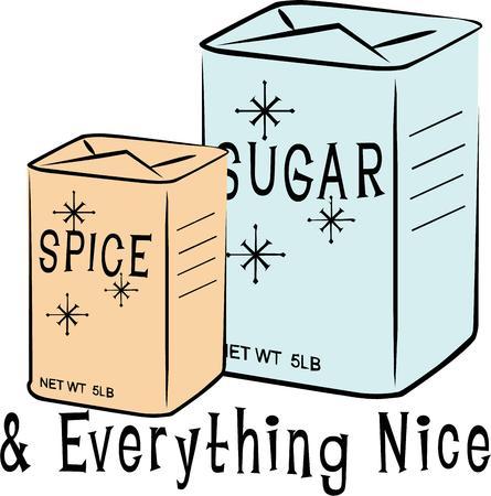 kleine meisjes: Wat zijn kleine meisjes gemaakt van suiker kruiden en alles wat leuk dat is wat Voeg dit ontwerp aan jack een klein meisje voor een zoete sentiment.
