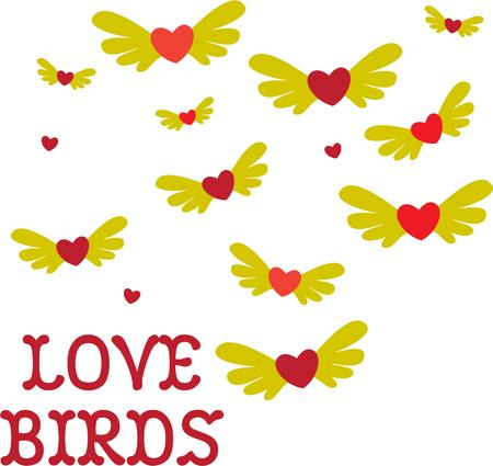one of a kind: Love takes flight with these creative love birds.  Create a one of a kind celebration of a one of a kind love.