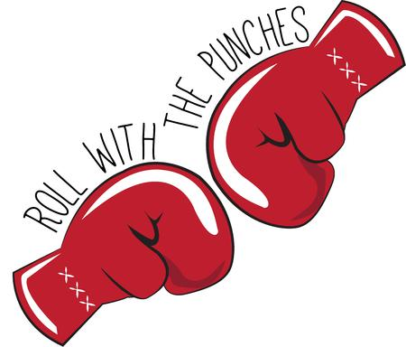 knock out: With The Punches Illustration