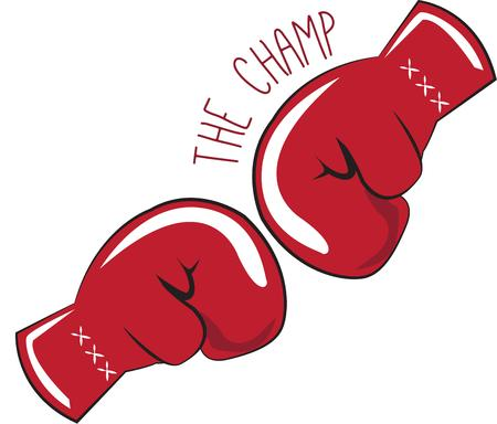 knock out: The Champ Illustration