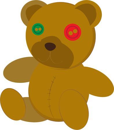 stuffed animal: Teddy Bear