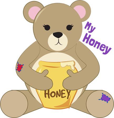 stuffed animal: My Honey