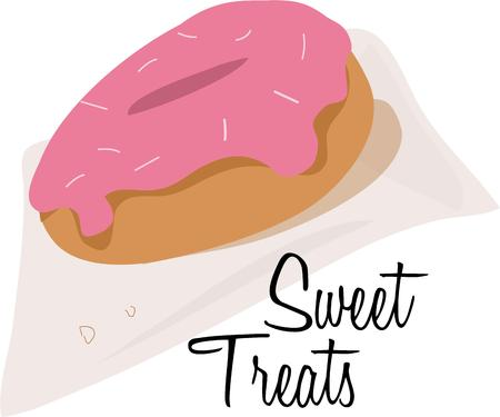 bagel: Delicious doughuts zijn een favoriet ochtend snack.