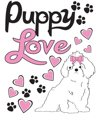 lovable: Little dogs make footprints on our hearts  we just love em  Add this lovable motif to your apparel or dcor to create a special gift for a dog lover