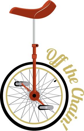 require: The bycycle is curios vehicle its passenger is its engine.  This unicycle require a special rider