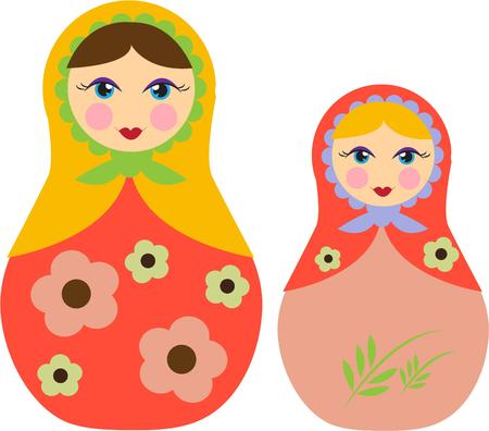 babushka: Sweet nesting dolls bring an international flair to your projects.  This icon of Russian culture looks amazing on bags or kids apparel.