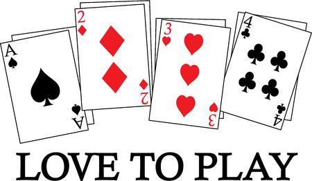 kartenspiel: Ein Deck so viele Spiele. Dekorieren Sie f�r Ihre Kartenspiel Nacht einfach perfekt.