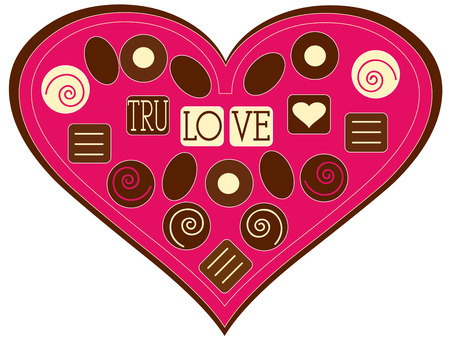 candy box: Give your Valentine a traditional romantic gift  a heart shaped box of chocolates.  Add this sweet box of candy to your Valentine greetings for an extra sweet message.