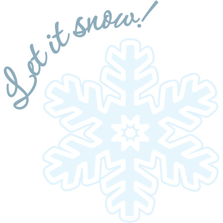treasured: Tiny crystals of ice create one of natures most beautiful miracles  a snowflake.  Add this lovely creation to your special creations and create a treasured keepsake. Illustration