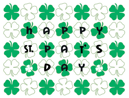 st patricks party: Heres a mat for St. Patricks day thats sure to brighten up any party.  Add it to your beverage napkins for a bit of good luck