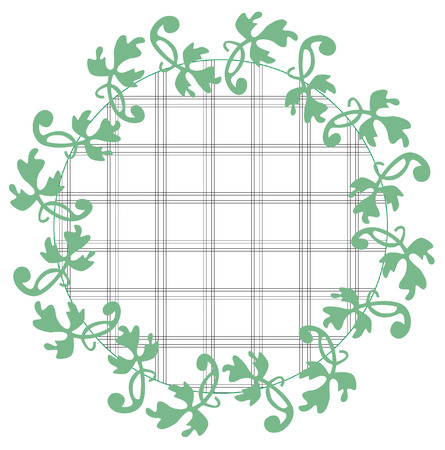 appeal: A wreath of delicate clover adds charm and appeal to your creations.  This is perfect for print and textiles.