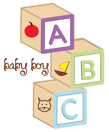 classics: A classic element of any childs toy box has to be wooden letter blocks.  Add these classics to a baby onesie to create a treasured gift.