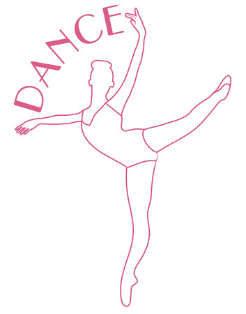 warm up: This ballet dancer expresses the art of the dance in elegance and grace.  She is a perfect addition to dance bags or a warm up jacket.