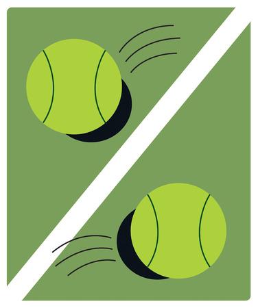 tennis racquet: Cree el bolso de la cubierta raqueta de tenis o el engranaje perfecto cuando decorada con este interesante dise�o pelota de tenis. De moda y una delicia visual