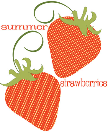 enhancement: Patchwork strawberries with elegant swirls are an enhancement to any crafty project.