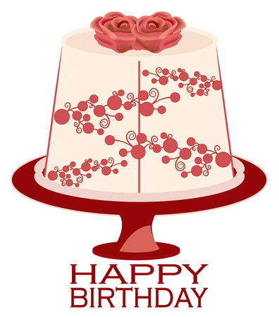 plant stand: Cake is always tasty but best when decorated with lovely flowers.  Add this cake to an apron for your fav baker