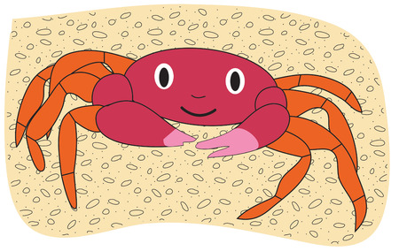 pinchers: A happy crab with pink pinchers adds a whimsical feel to your artistic endeavors.  Add him to kids beachwear for a super fun look