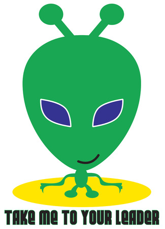 check out: A little green man from outer space is here ready to turn a little boys shirt into a special favorite.  Check out those big blue eyes  He is a real ET Illustration