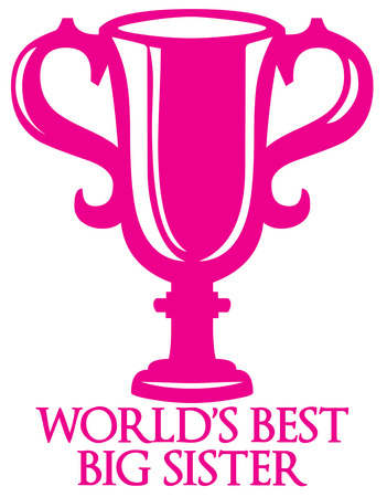 token: We have a special award for you  a pink trophy.  Honor the winners and achievers with this pink award.