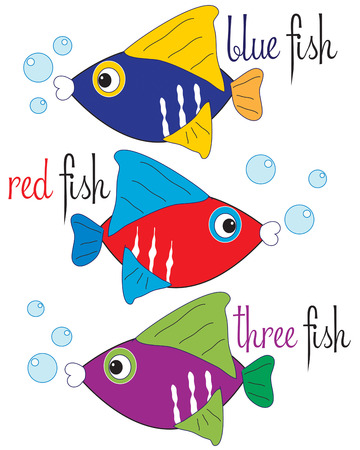 bits: Three colorful fish swim in a row to add nautical charm to your creations.  We love these little bits of ocean life on towels or swimming pool gear.