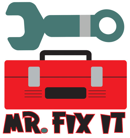 it business: Mr. Fix it is here to help.  Great design to create shirts for any home repair or fix it business