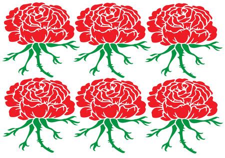 очаровательный: Граница роз так очень мило. Розетки такие очаровательные границы.