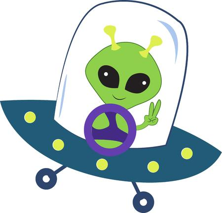 invaders: little green invaders from outer space