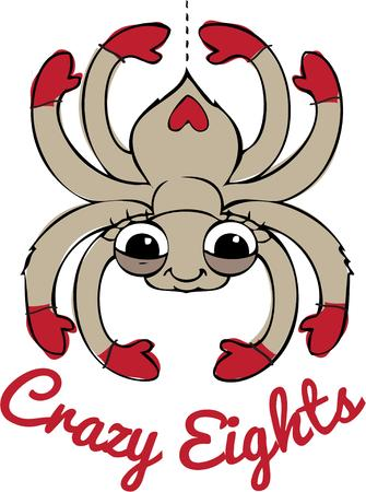 arthropoda: This is the most friendly and happy spider we have ever seen. We love him embellished on a Halloween shirt.