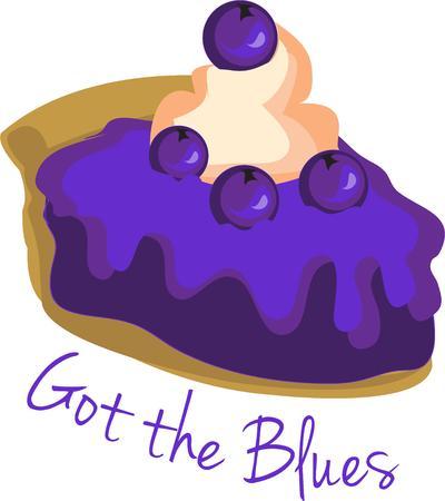 blueberry pie: the Blueberry pie